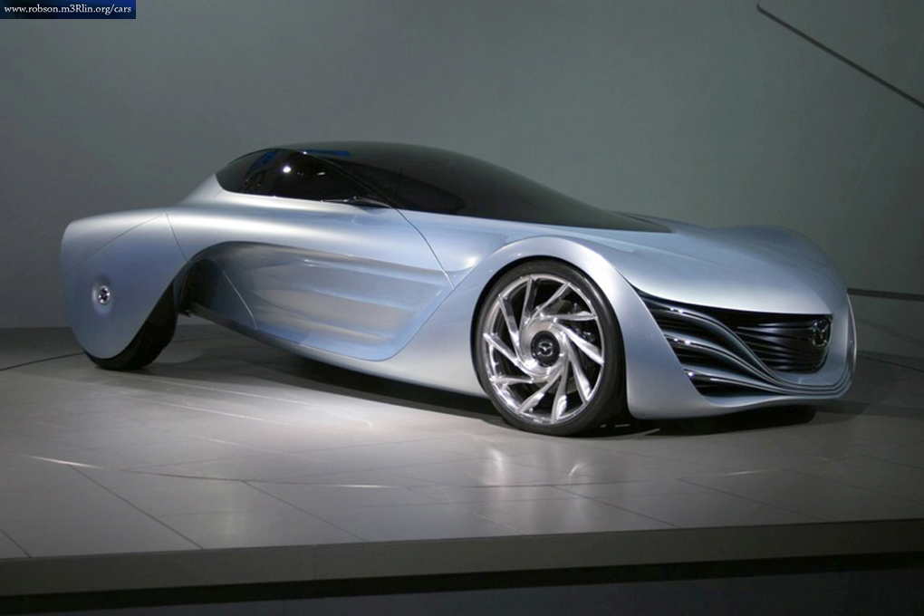 The Mazda Taiki concept car is equipped with a next generation rotary engine