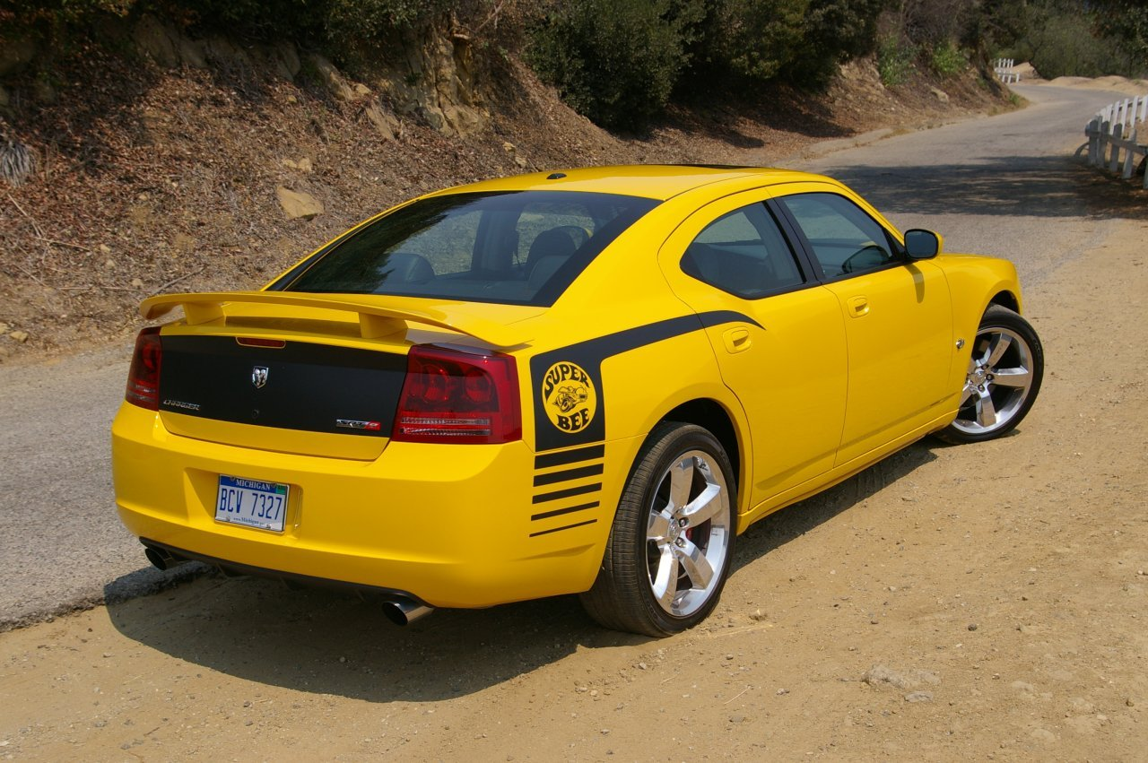 2007 Dodge Charger SRT8 Super Bee - Test drive and new car review - 2007