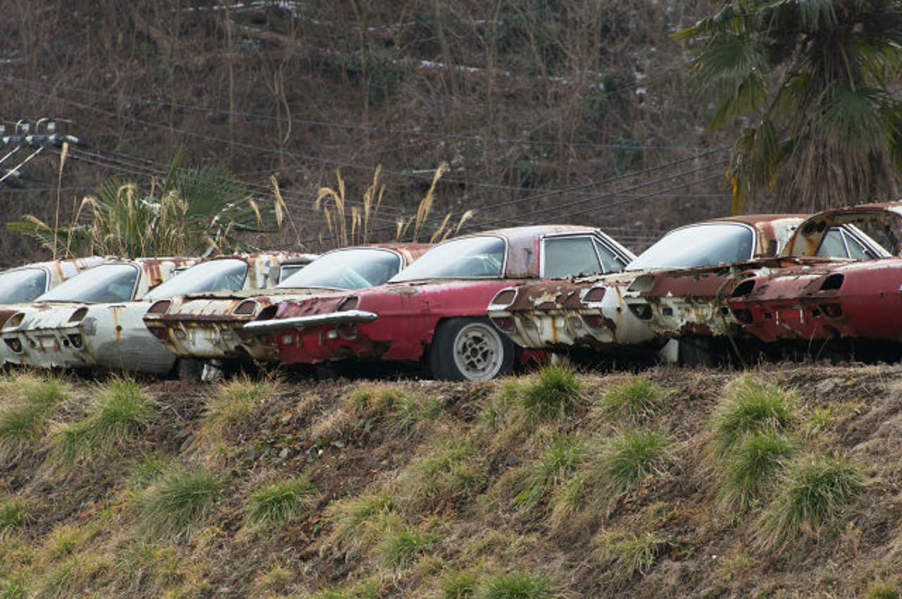 Mazda Cosmo Sports Rust Away in Japan. Posted on February 1, 2011 by Ben