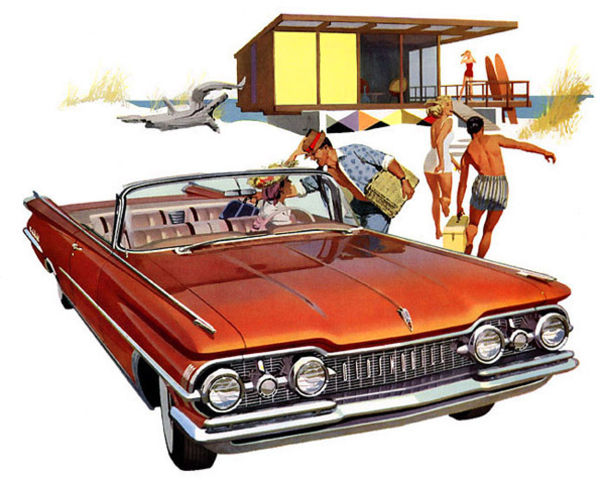 1959 Oldsmobile 98 Convertible. Share it:
