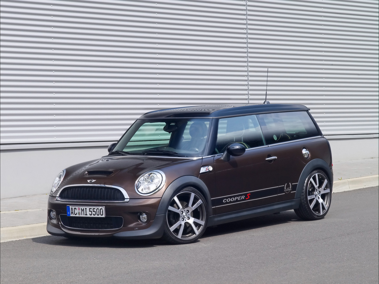 2008 AC Schnitzer Mini Cooper S Clubman - Front And Side ...