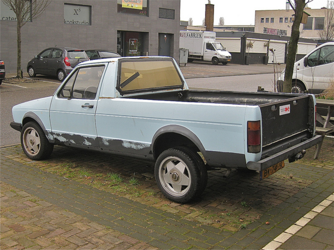 VOLKSWAGEN Caddy Diesel Pick-up, 1985. The first generation VW Golf-based