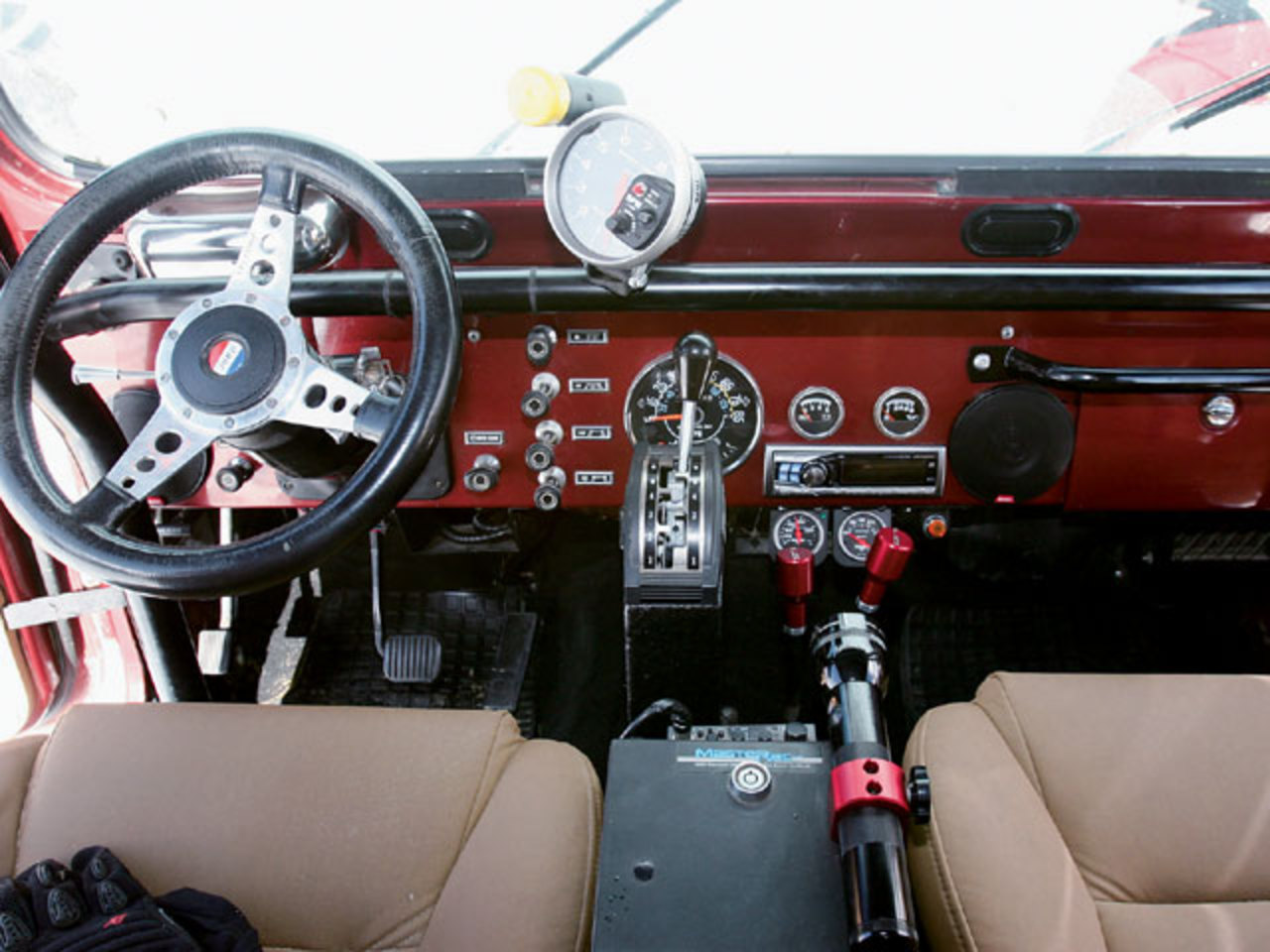 1985 Jeep Cj 7 Interior