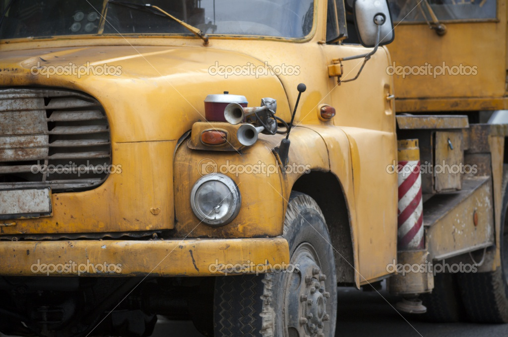 Old crane truck | Stock Photo © Robert Kovacs #