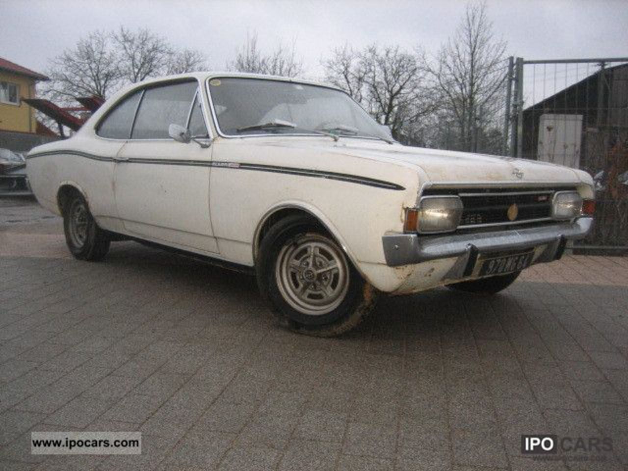 1968 Opel Rekord C Sprint Coupe Sports car/Coupe