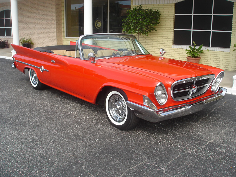 1961 Chrysler 300G Painted Red