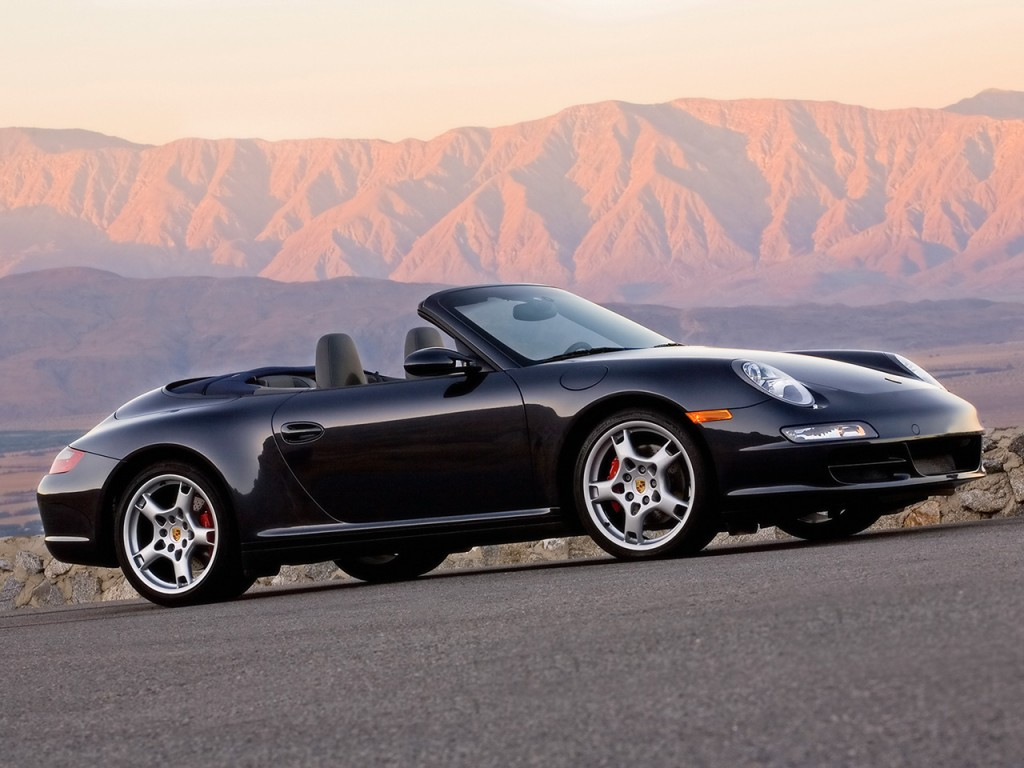 Porsche 911 Carrera 4. This car features great as Carrera 4 is 143 pounds