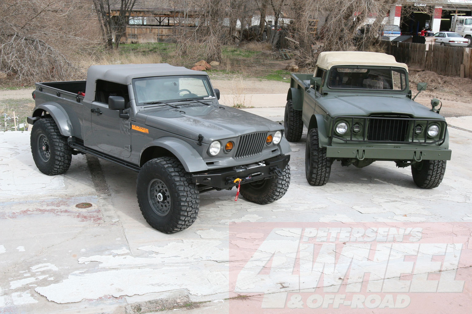 The M715 (along with some non military Jeep J10/J20 pick-ups) can be found
