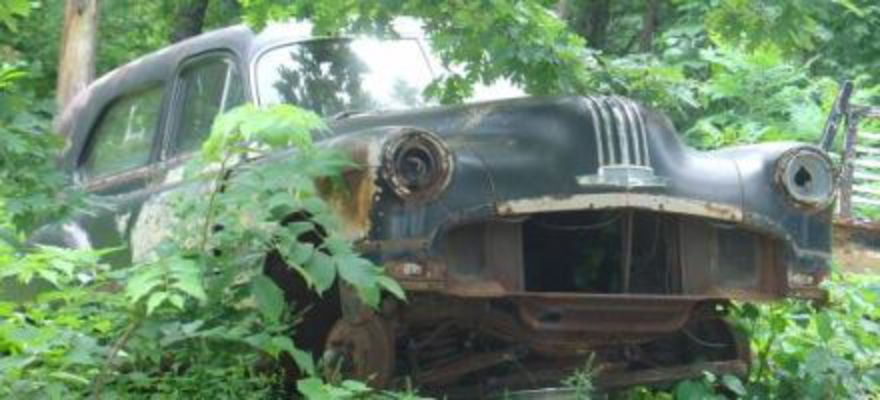 "Abandoned Pontiac posted 06.17.2006. June 17, 2006 – ""I came across this on"
