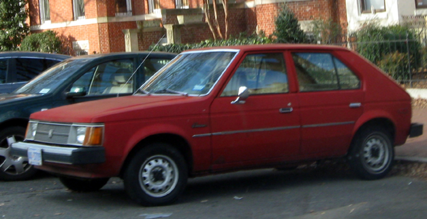 File:Dodge Omni -- 12-15-2010.jpg. No higher resolution available.