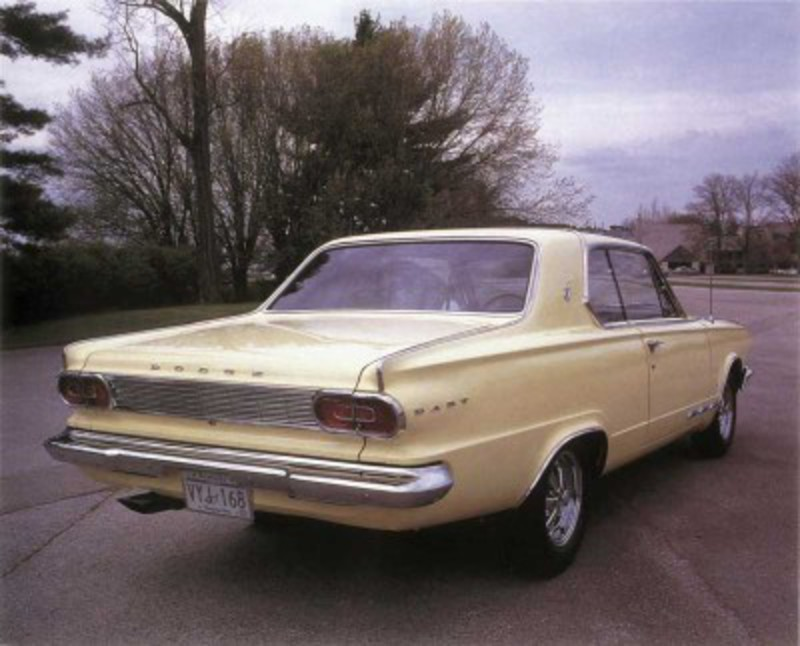 The 1965 Dodge Dart GT 273 was a stout compact that turned quite