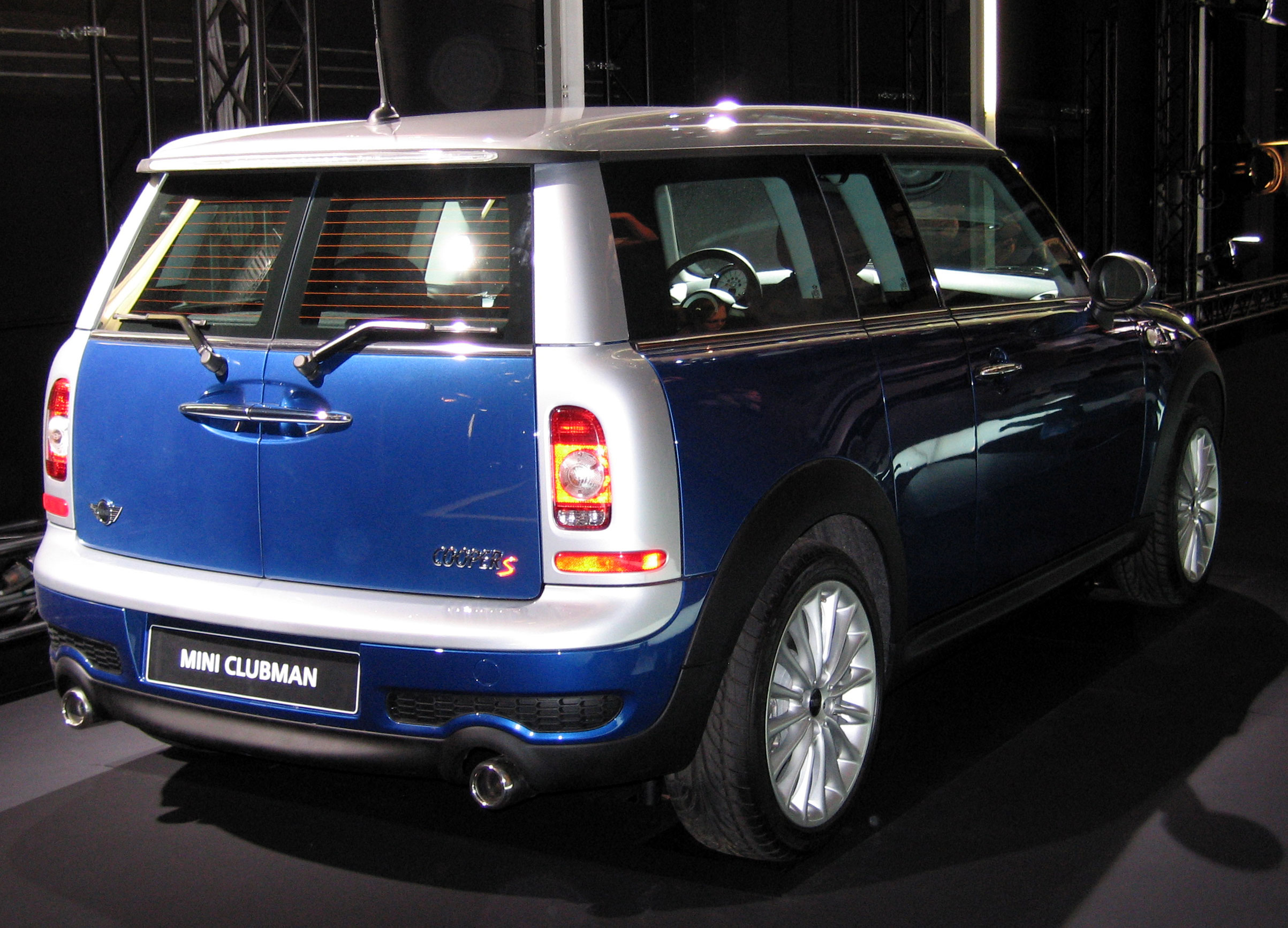 File:BMW Mini Cooper S Clubman.jpg - Wikimedia Commons