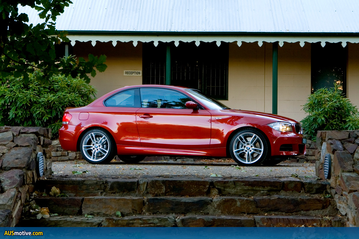 BMW 135i. After attending the launch of BMW's 1 Series Coupé, I was keen for