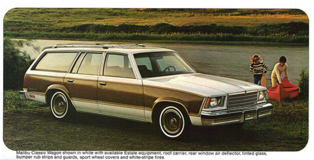 1979 Chevrolet Malibu Classic Estate Station Wagon - a photo on Flickriver