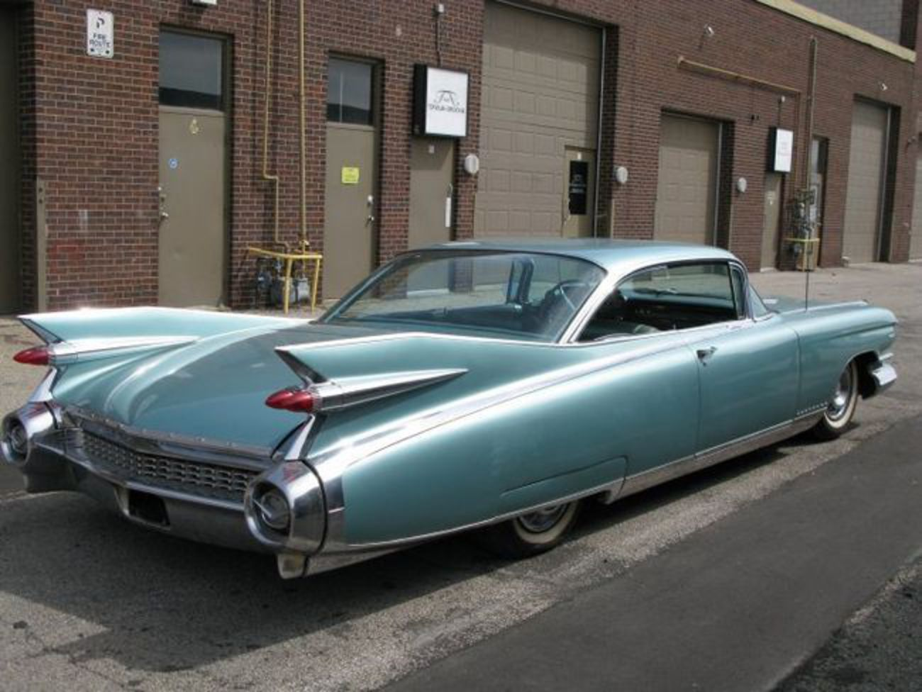 This 1959 Cadillac Eldorado Seville is number 836 of 975 ever made.