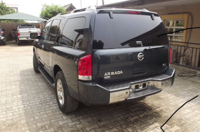 Toks 2007 Nissan Armada Se 4x4 suv for sale