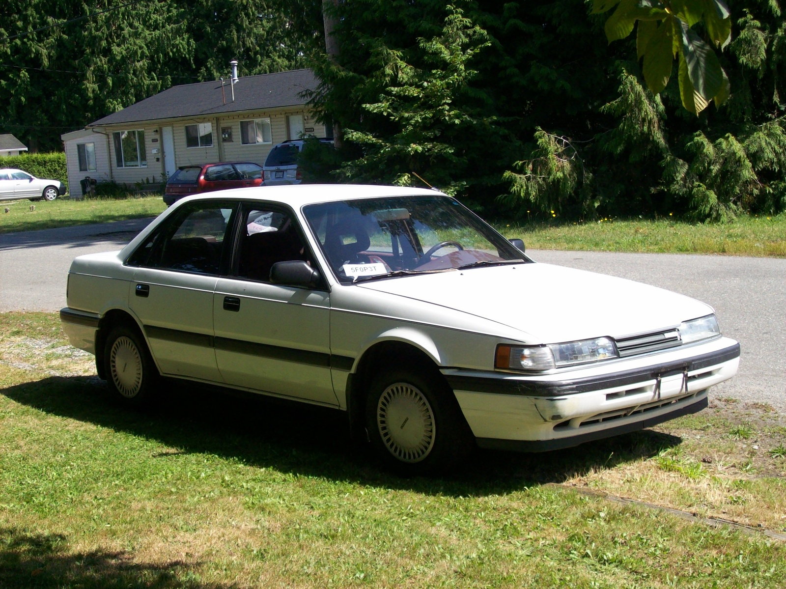 Mazda is the producer of the 1989 Mazda 626. After several years of R&D,