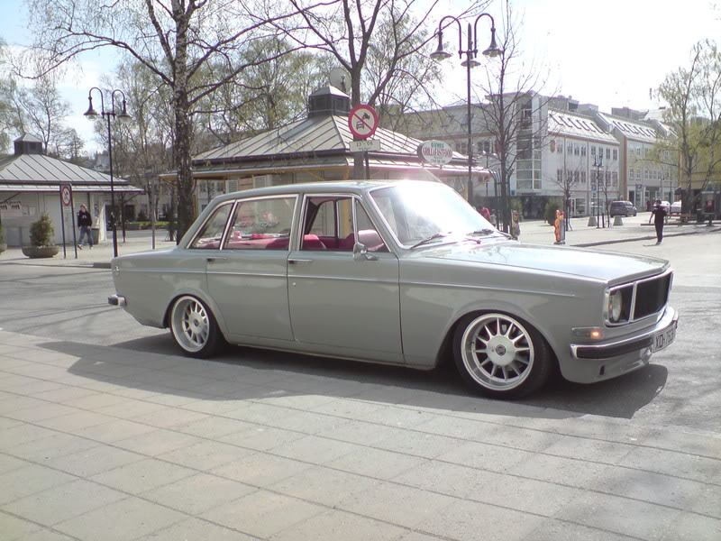 Stunning Volvo 144 from Norway