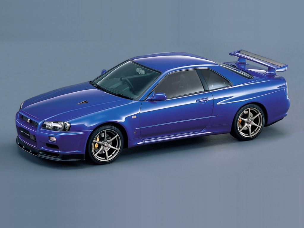 Nissan Skyline GT-R (R34). Next Image Previous Image