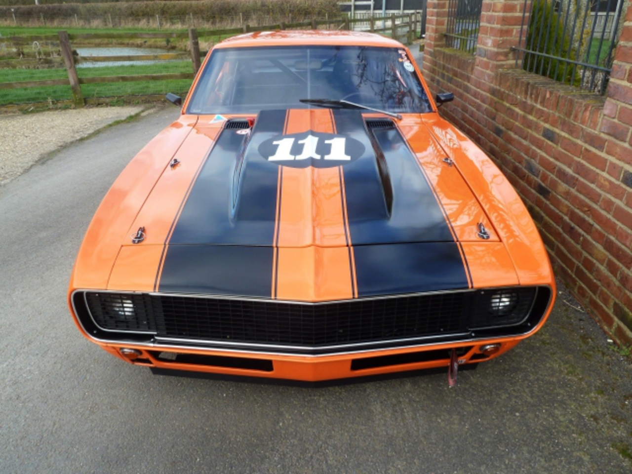 1967 Chevrolet Camaro Race Car – ICS Spec. This is a well known race car