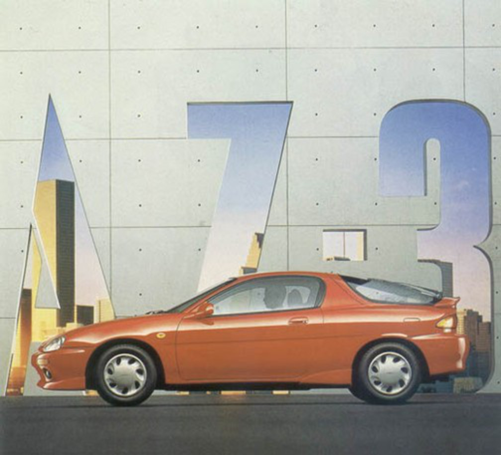 Mazda AZ-3. Mazda AZ-3. Image Source: Toyo Kogyo Co. Ltd.