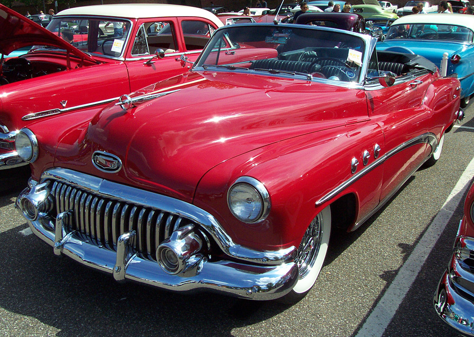 1952 Buick Super Convertible--Red. Images Copyright John Filiss