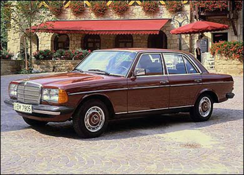 Mercedes-Benz W123. Made to last: the beautifully built W123