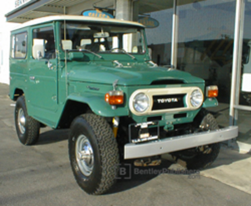 Toyota Land Cruiser FJ40 1978 ©TLC 4X4