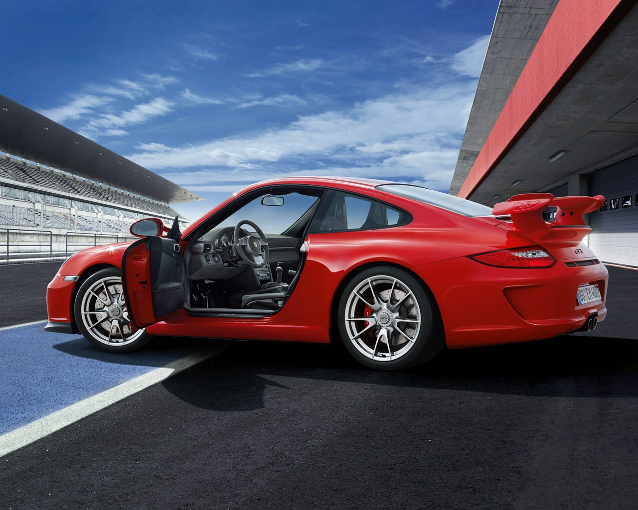 Porsche 911 GT3 - cars catalog, specs, features, photos, videos, review,