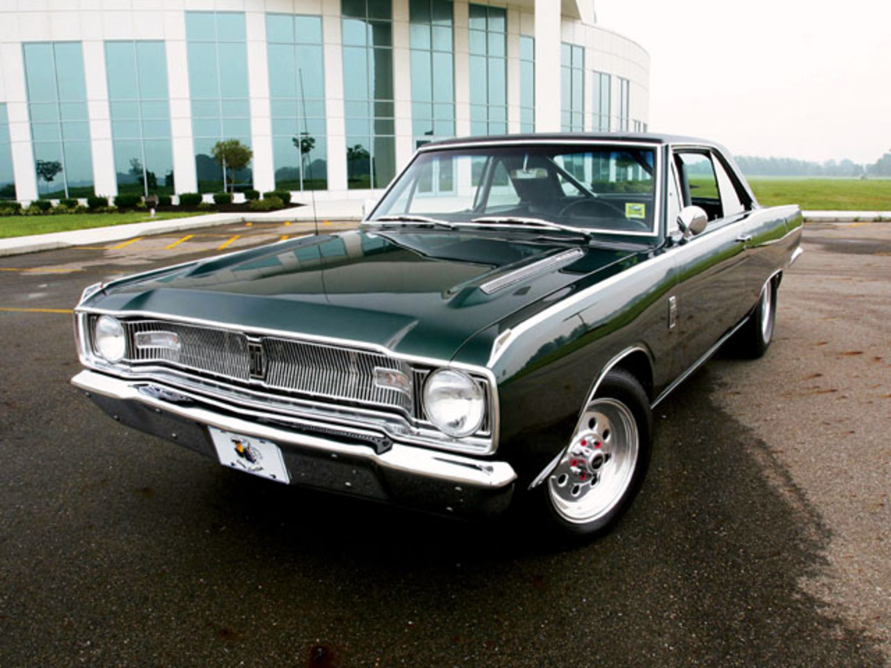 1967 Dodge Dart Gt Front View