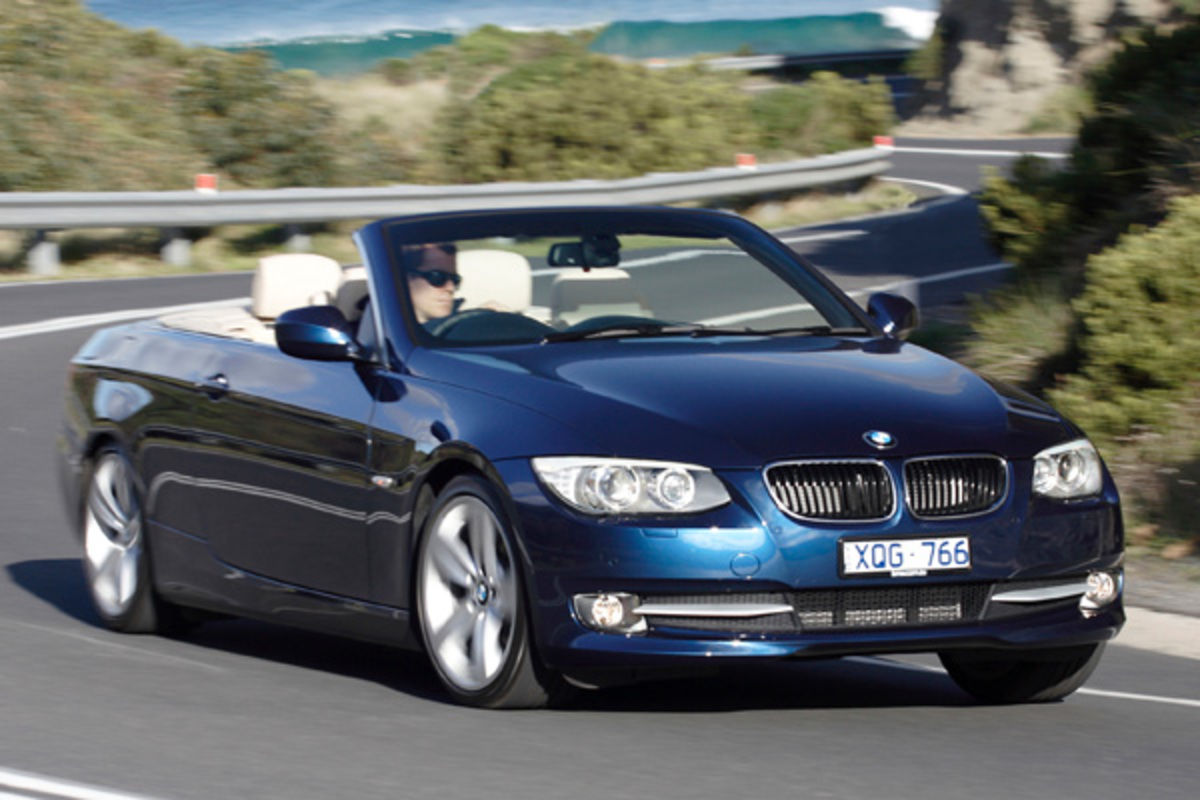 BMW 320d Convertible. Click for more photos