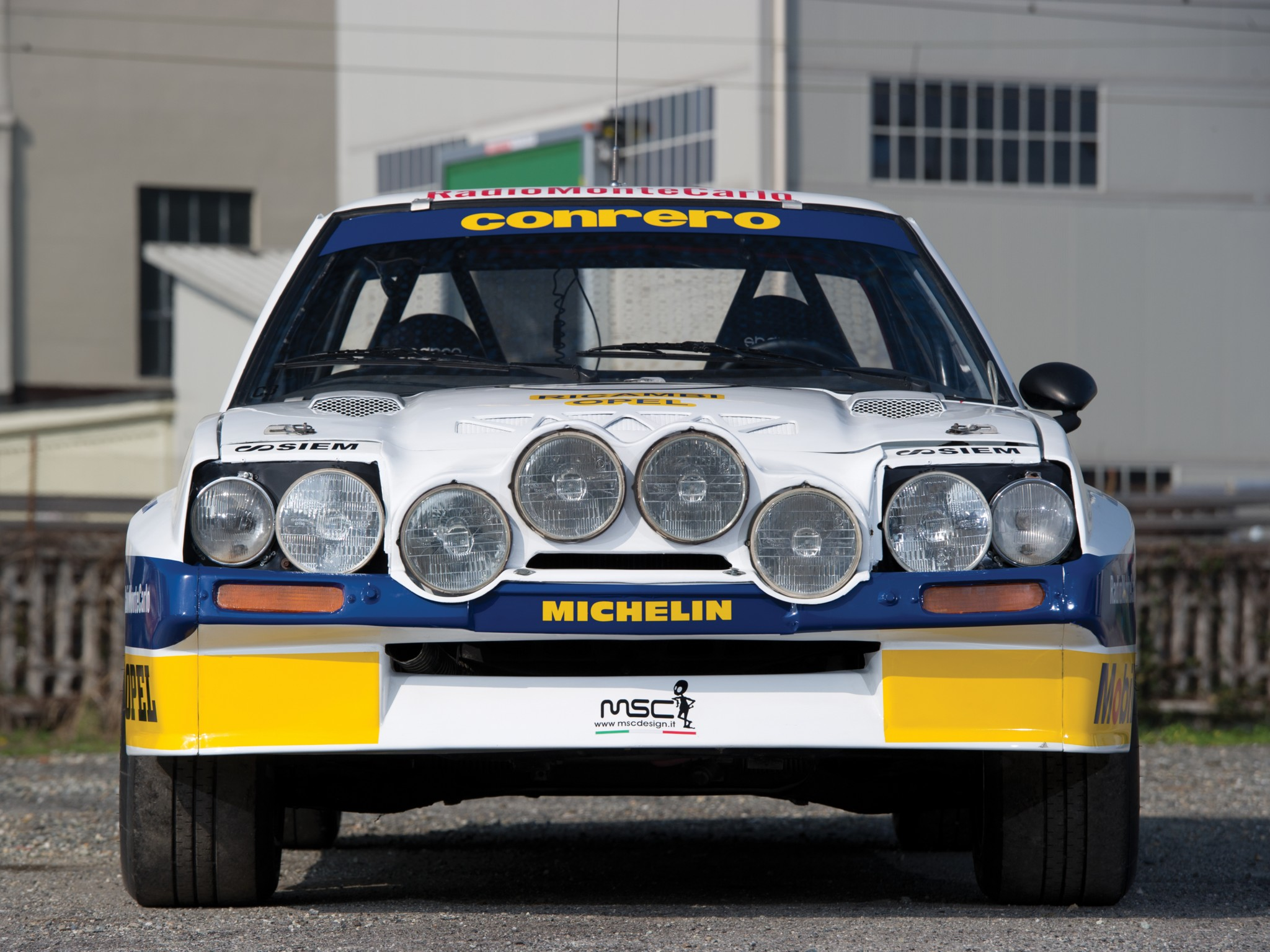 You can vote for this Opel Manta 400 Rally photo
