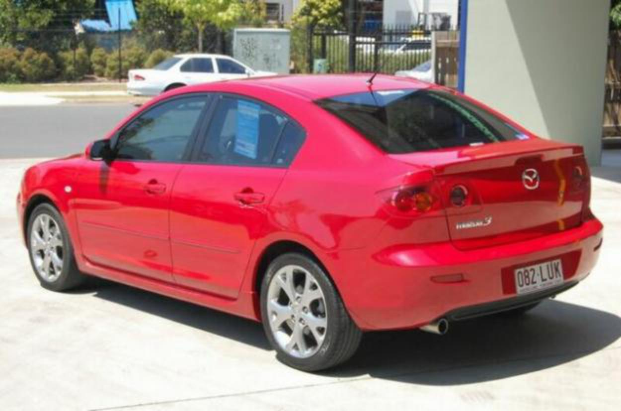 2005 Mazda 3 BK Maxx Sport Red 4sp A Sedan - Cars