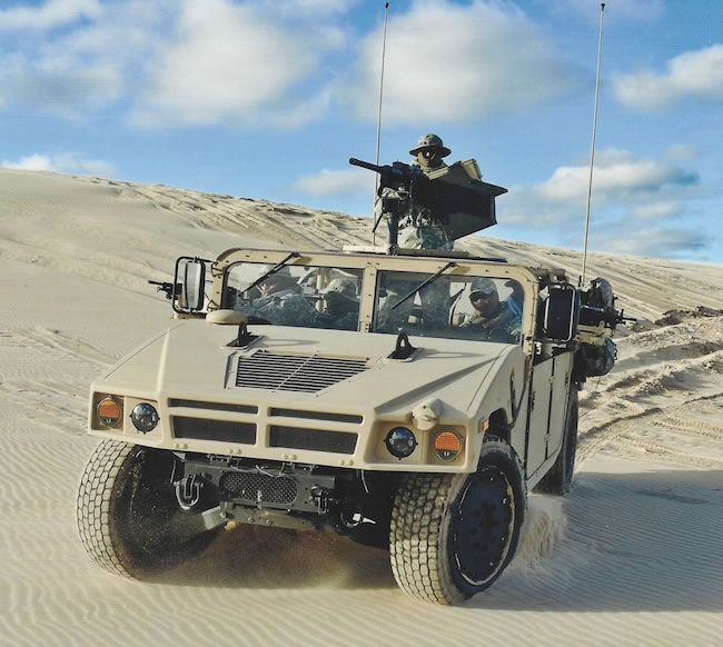 HMMWV Press Releases - HMMWV In Scale