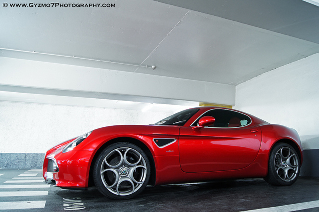Alfa Romeo 8C Competizione - Paris | Flickr - Photo Sharing!