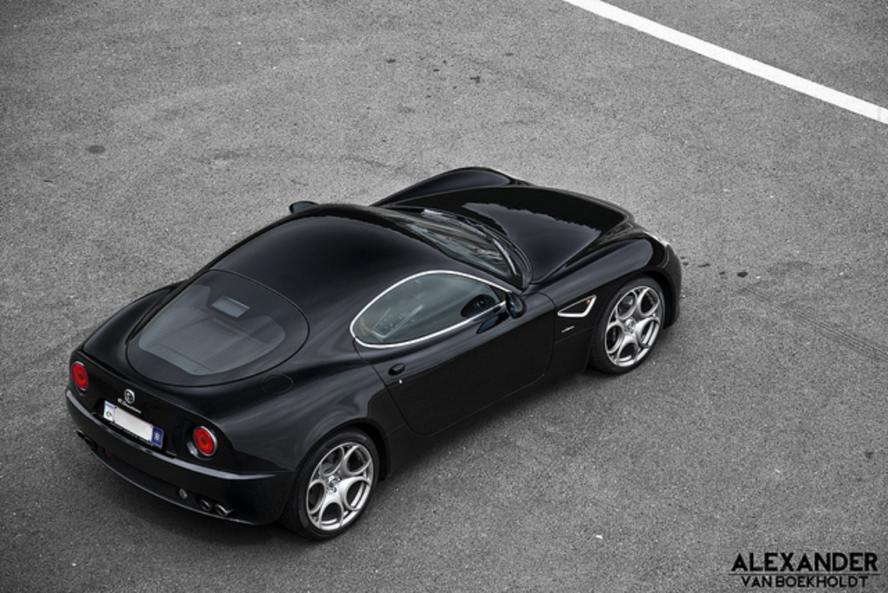 Beautiful Italian Art: Alfa Romeo 8C Competizione | Flickr - Photo ...