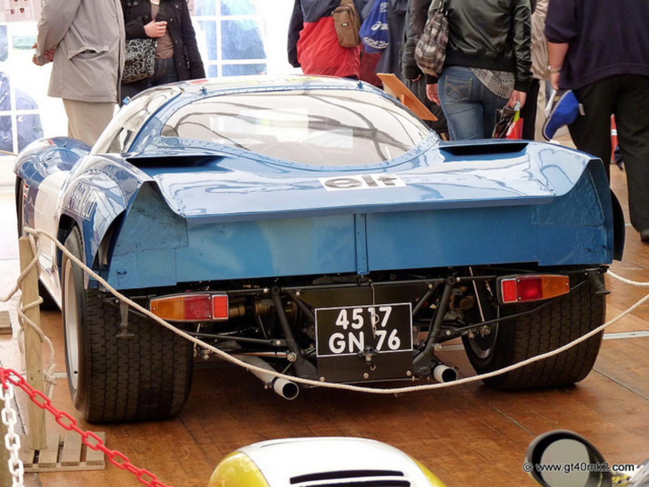 Vue arrière Alpine A210 Le Mans 1969 | Flickr - Photo Sharing!