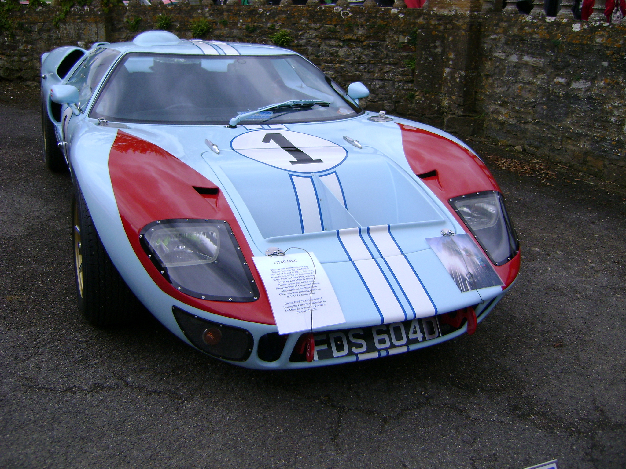 Ford GT40 replica. | Flickr - Photo Sharing!