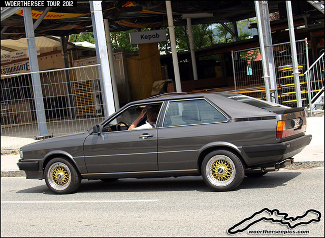 Audi Coupe on BBS wheels | Flickr - Photo Sharing!