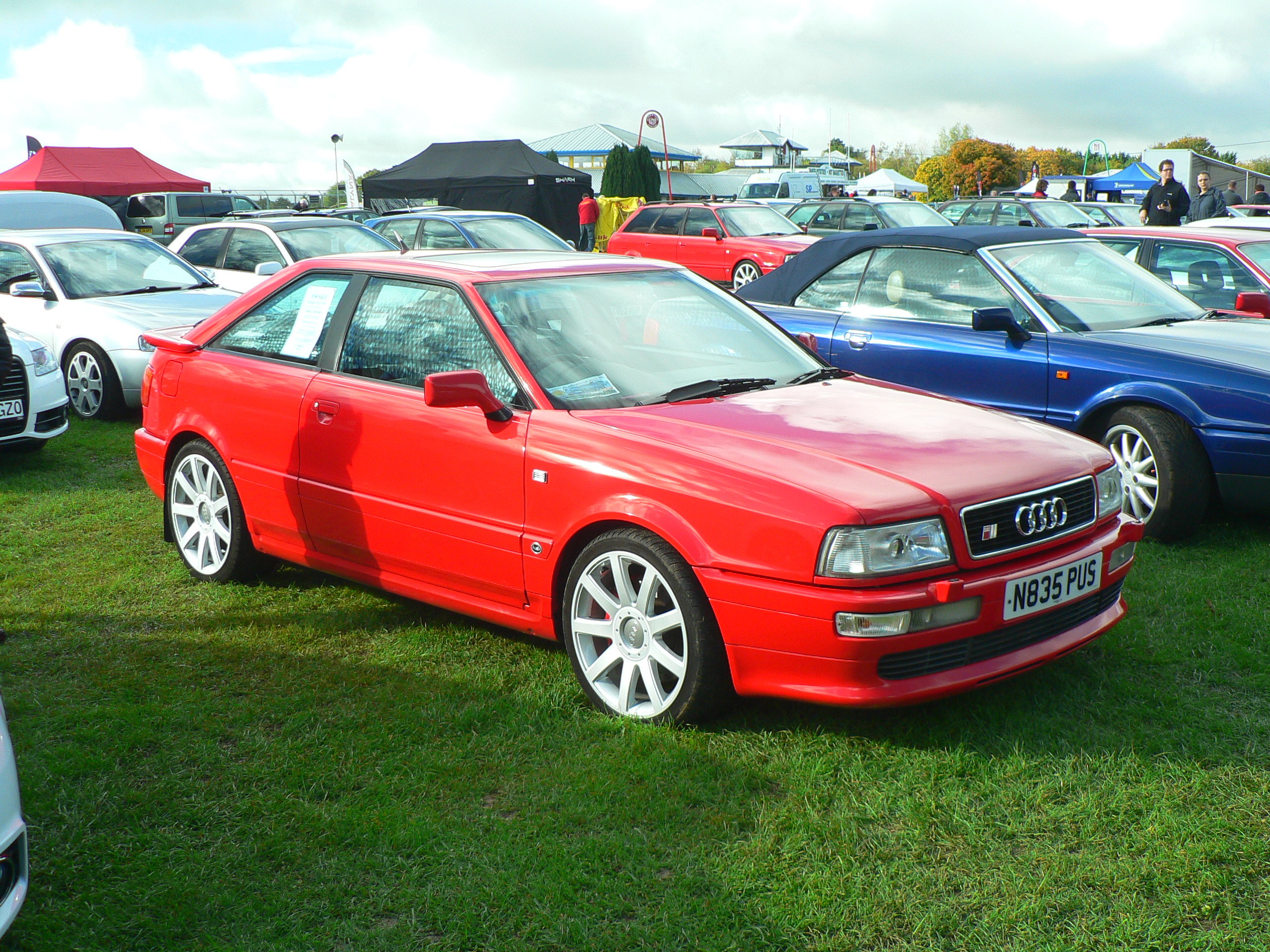 Audi Coupe S2, N835 PUS at Castle Combe | Flickr - Photo Sharing!