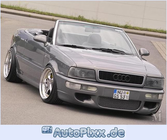 Pin Audi 80 Cabriolet 23e Motoburg on Pinterest