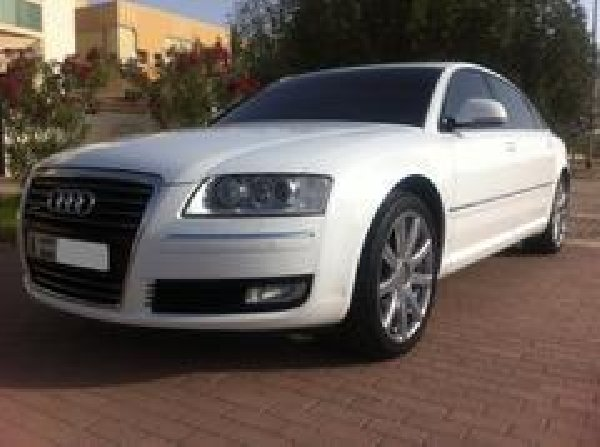 AUDI A8 L 4.2, QUATTRO,8 Cylinders ,White,Low mileage,From Owner ...