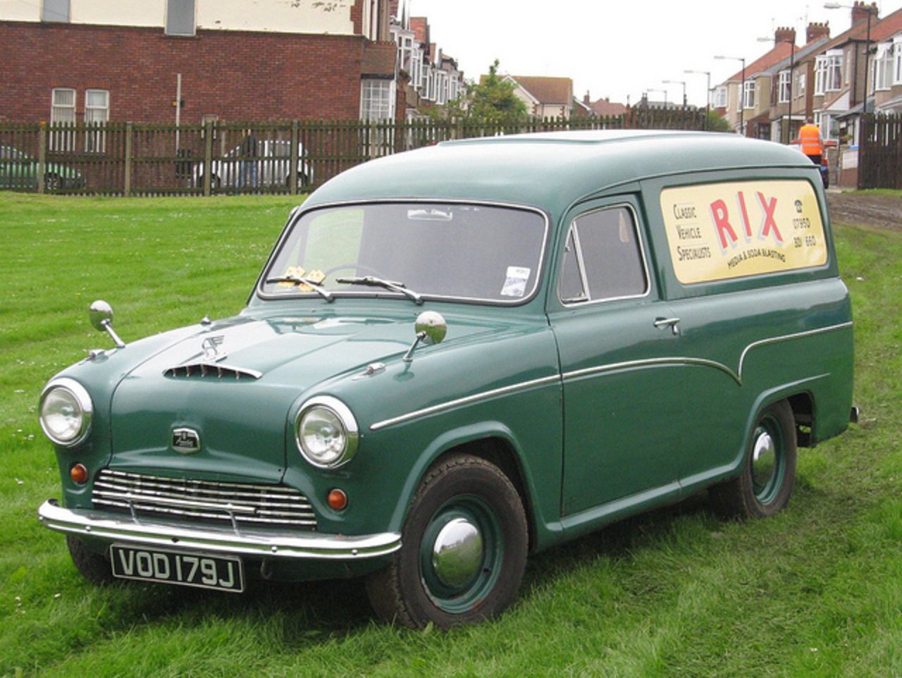 Austin A60 Van | Flickr - Photo Sharing!