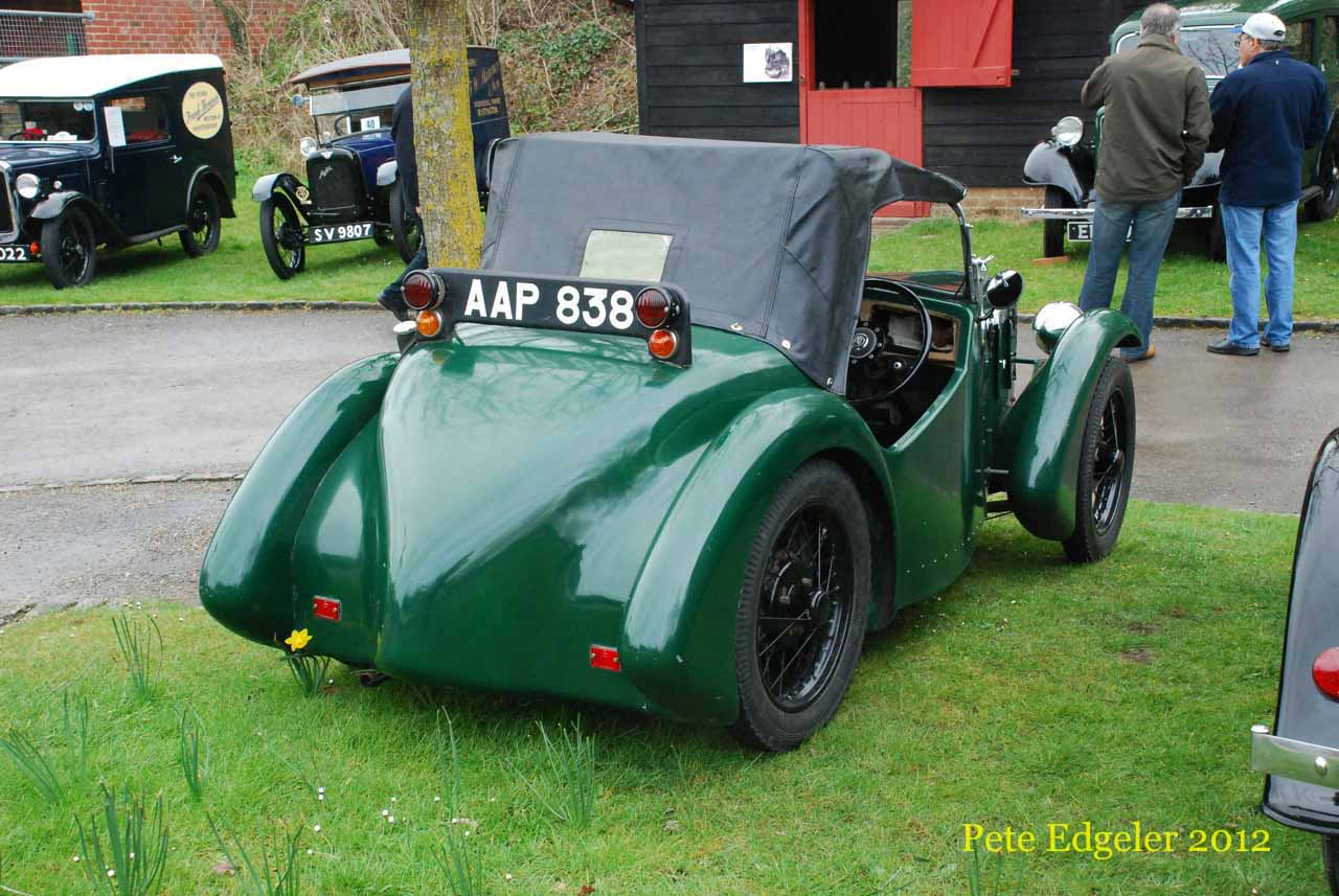 AAP838 1937 Austin Imp Special 2-seat Open Sports | Flickr - Photo ...