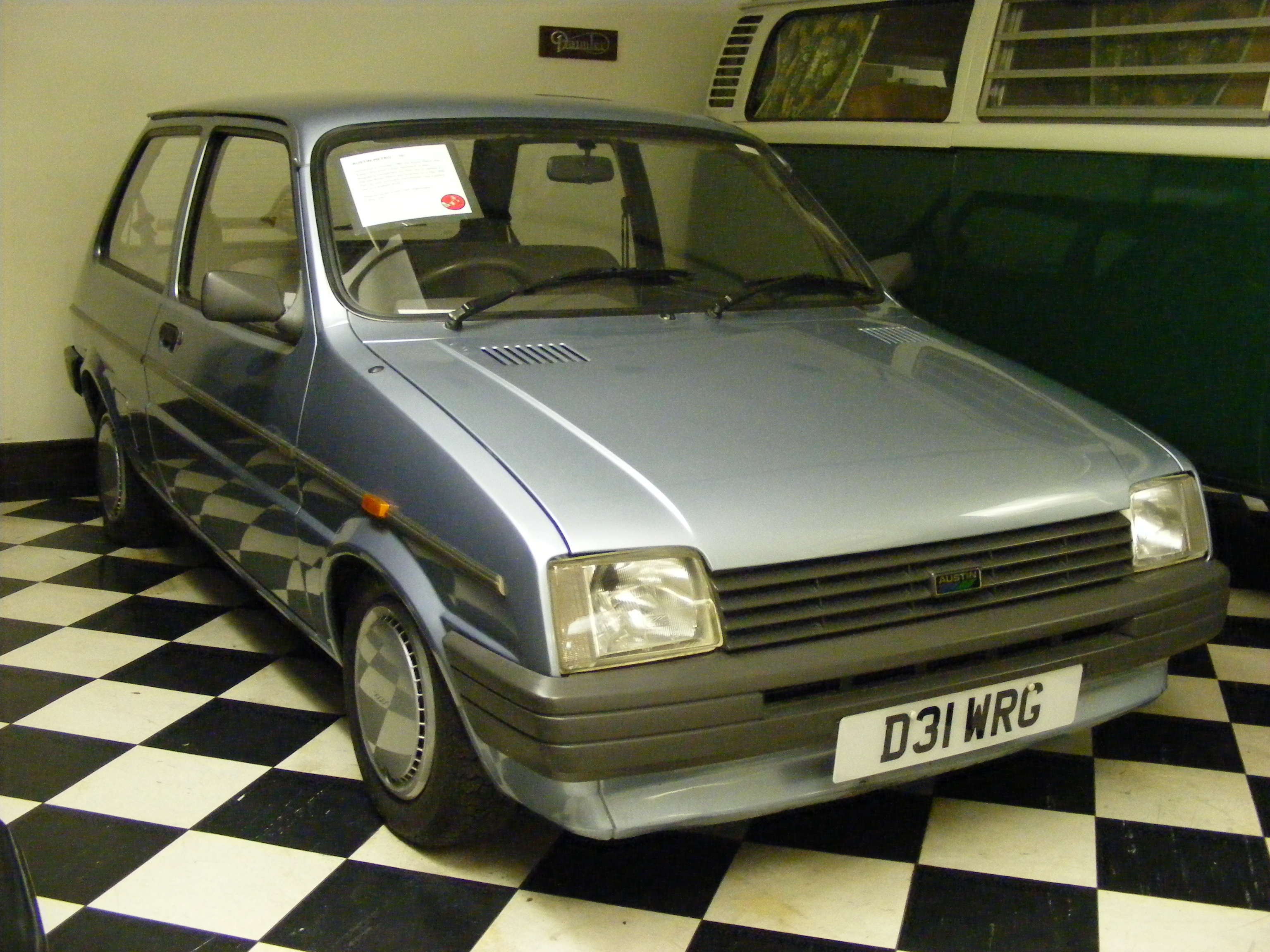 Austin Metro D31WRG Glasgow Museum of Transport | Flickr - Photo ...