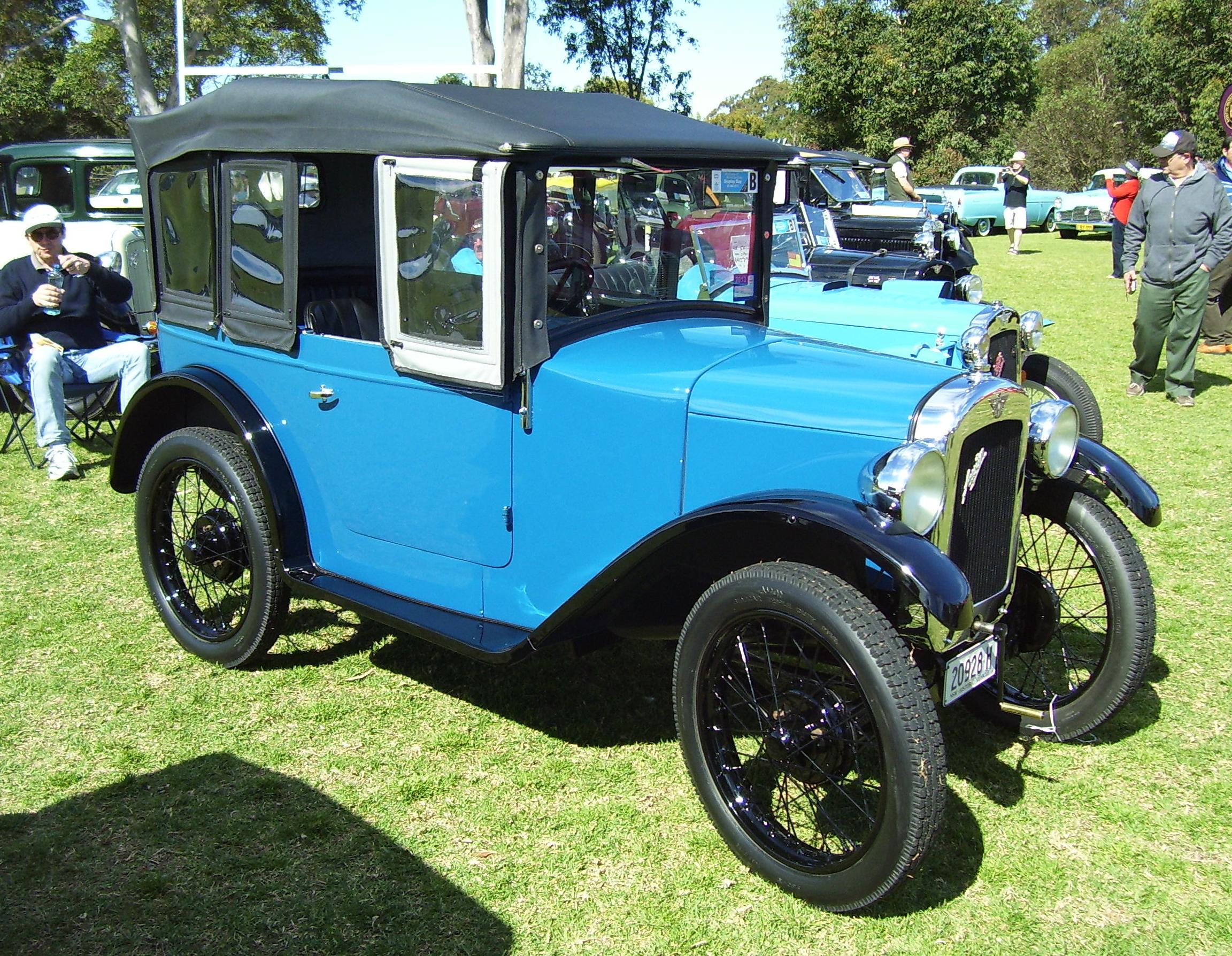 Mid 1920s Austin Seven roadster _All British Day 2012 - Vintage ...