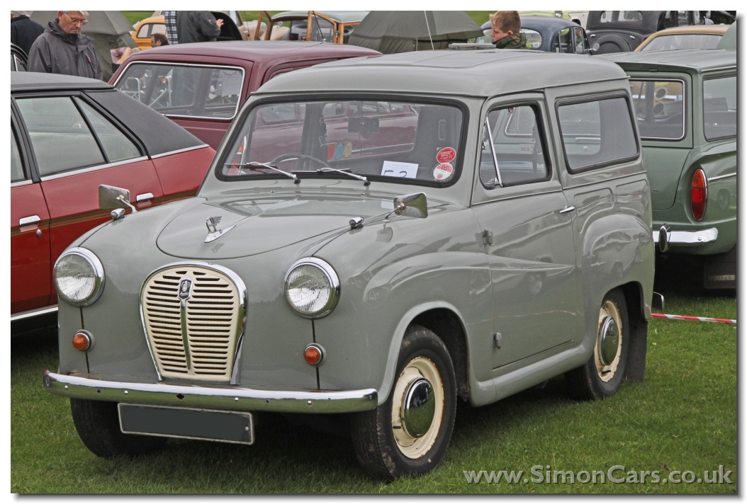 Simon Cars - A30 Van from Austin