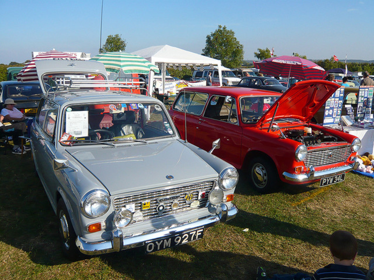 1967 Austin 1100 Countryman and 1973 Austin 1300 Countryman ADO16 ...