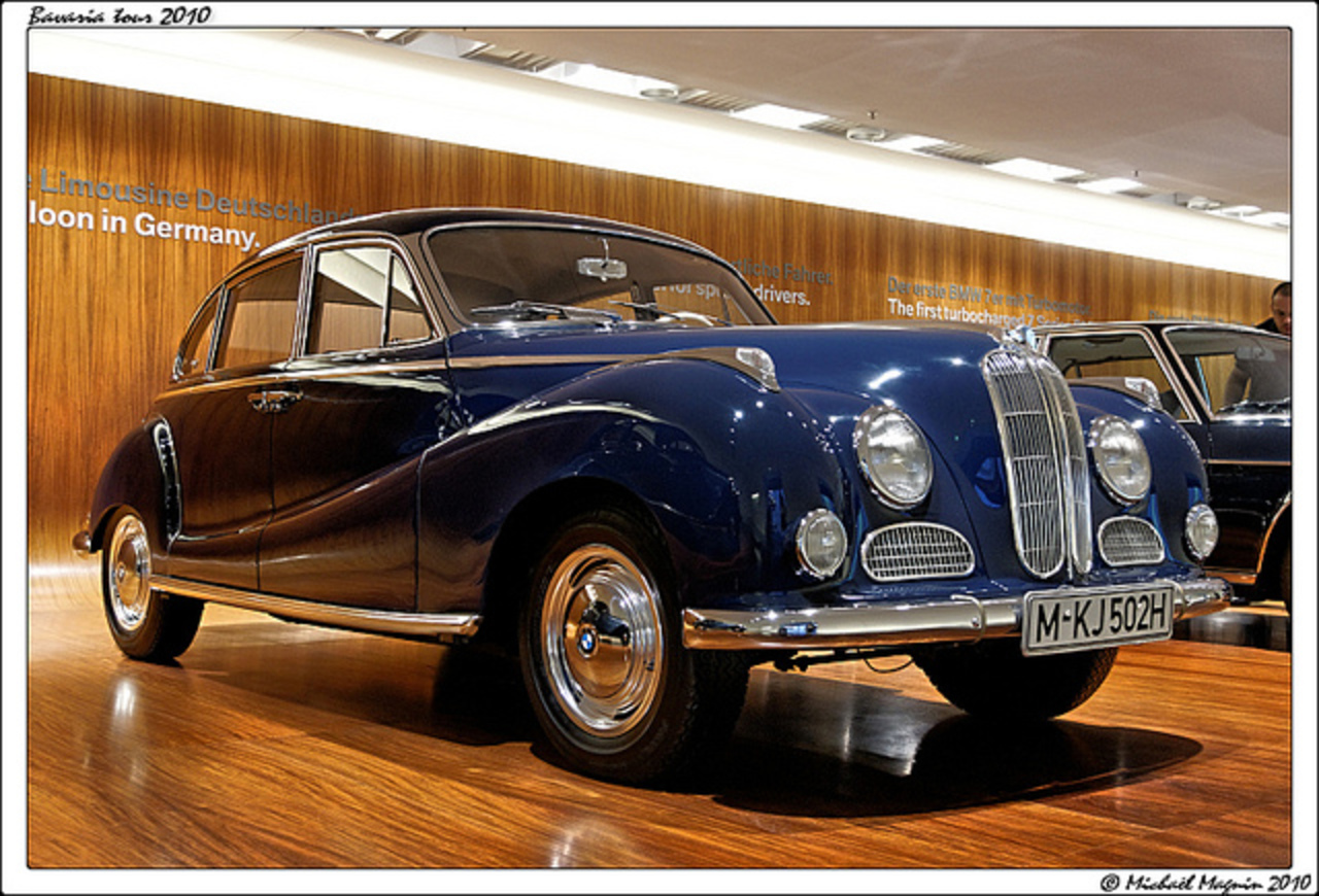 BMW 502 - BMW Museum | Flickr - Photo Sharing!