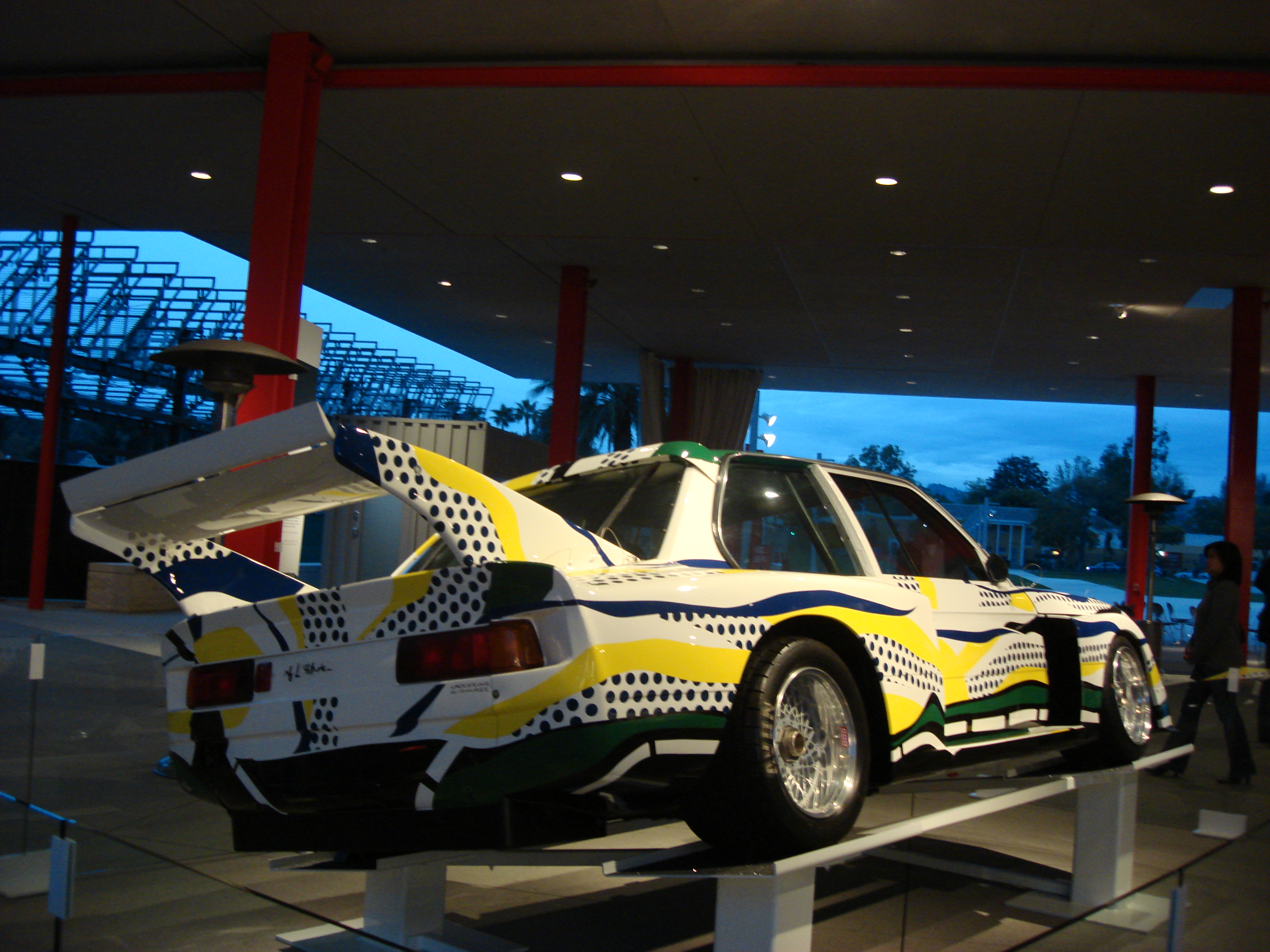BMW 320i Art Car - Roy Lichtenstein 1977 | Flickr - Photo Sharing!